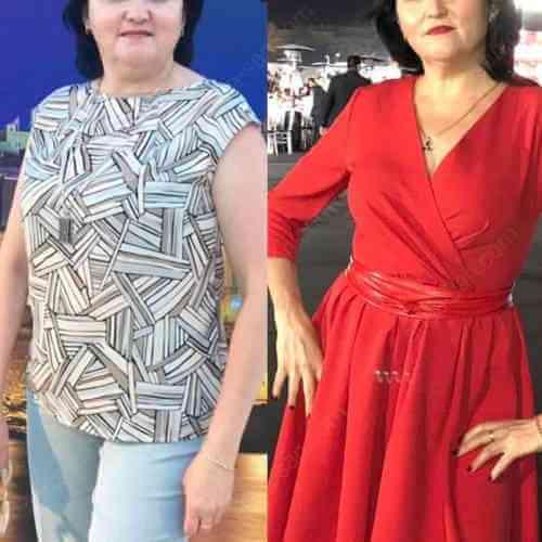 История похудения Камиллы