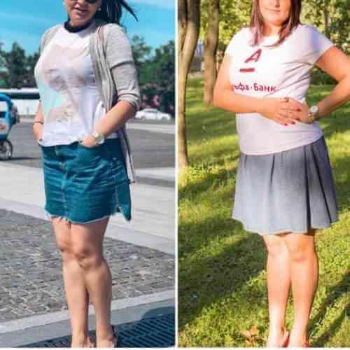 История похудения Алены